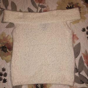 Forever 21 Fuzzy Shirt
